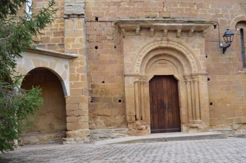 Iglesia de San Martín de Tours, en Orísoain.