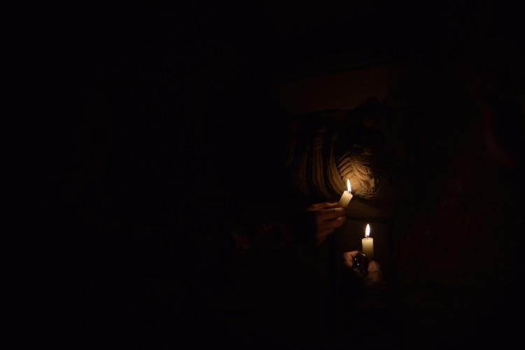 En la cripta de Orísoain.